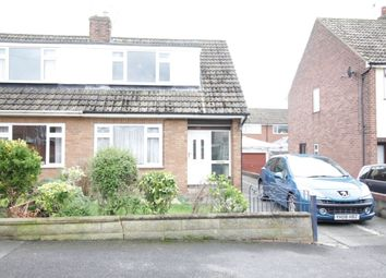 Thumbnail 2 bed semi-detached house to rent in Lyndon Avenue, Garforth, Leeds