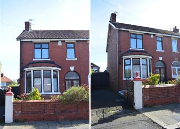 Thumbnail 3 bed semi-detached house for sale in Dutton Road, Blackpool