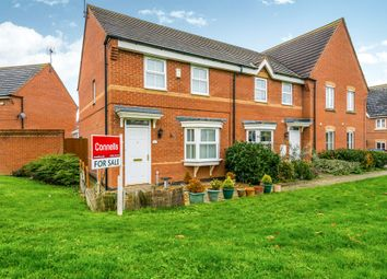 Thumbnail 3 bed end terrace house for sale in Gladiator Close, Wootton, Northampton
