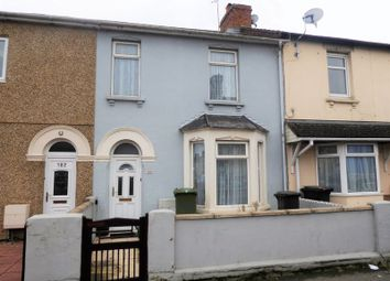 Thumbnail 2 bed terraced house for sale in Cricklade Road, Swindon