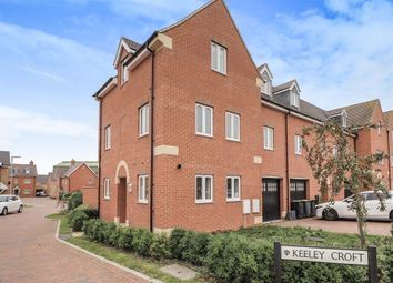 Thumbnail End terrace house for sale in Keeley Croft, Shortstown, Bedford
