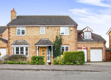 Thumbnail 5 bedroom detached house for sale in Varrier Jones Drive, Papworth Everard, Cambridge