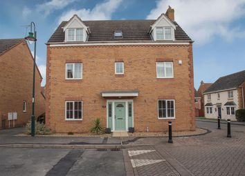 Thumbnail 5 bed detached house for sale in Old Bailey Road, Hampton Vale, Peterborough