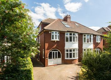 Thumbnail 4 bed semi-detached house for sale in Beckfield Lane, Acomb, York