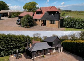 Thumbnail 7 bed farmhouse for sale in Woodside Green, Lenham, Maidstone
