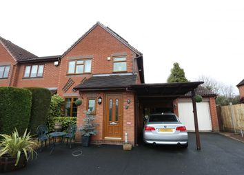 Thumbnail 3 bed end terrace house for sale in Blagdon Close, Worcester
