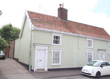Thumbnail 2 bed semi-detached house for sale in Double Street, Framlingham, Woodbridge