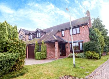 Thumbnail 5 bed detached house for sale in Church Hams, Finchampstead, Wokingham, Berkshire