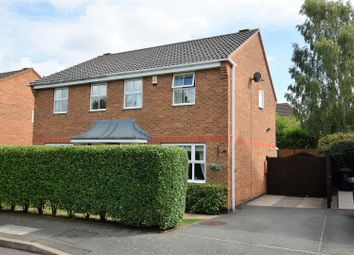 Thumbnail 3 bed semi-detached house for sale in Normanton Drive, Oakham