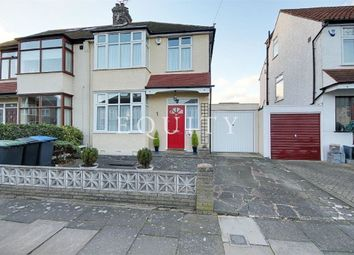 Thumbnail 3 bed semi-detached house for sale in Hillside Crescent, Enfield