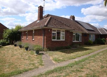 Thumbnail 2 bed semi-detached bungalow to rent in The Green, Snailwell, Newmarket