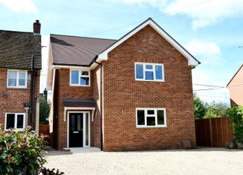 Thumbnail 4 bed detached house for sale in Lambourn Road, Speen, Newbury
