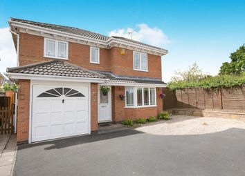 Thumbnail 4 bed detached house for sale in Stotfield Avenue, Warndon, Worcester