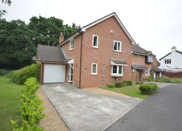 Thumbnail 3 bed detached house for sale in Corfe Halt Close, Corfe Mullen, Wimborne