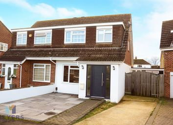 Thumbnail 3 bedroom semi-detached house for sale in Horton Close, Muscliff