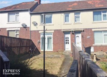 Thumbnail 3 bed terraced house for sale in The Crescent, Chester Moor, Chester Le Street, Durham