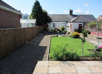 Thumbnail 2 bed bungalow to rent in Embleton Avenue, Wallsend