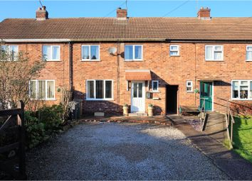 Thumbnail 2 bed terraced house for sale in Hawthorn Avenue, Netherseal, Swadlincote
