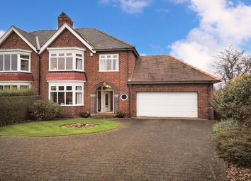 Thumbnail 4 bed semi-detached house for sale in Oxbridge Avenue, Stockton-On-Tees