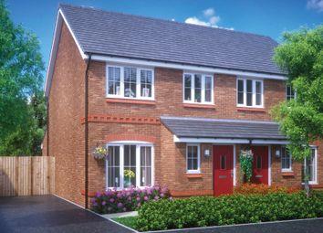 Thumbnail 3 bedroom semi-detached house for sale in Dawley Road, Arleston, Telford