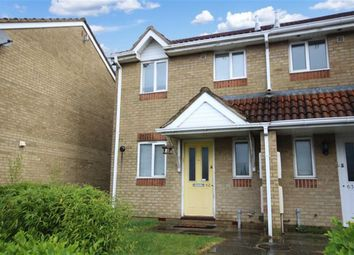 Thumbnail 2 bedroom end terrace house for sale in Barnum Court, Rodbourne, Swindon