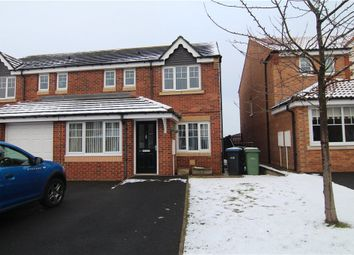 Thumbnail 3 bed semi-detached house for sale in Ellerby Mews, Thornley