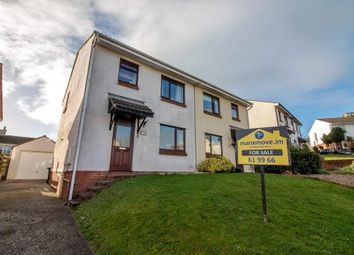 Thumbnail 3 bed semi-detached house for sale in 15 Close Kennish, Douglas