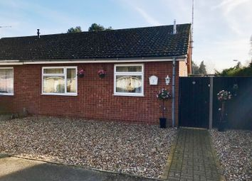 Thumbnail 2 bedroom semi-detached bungalow for sale in Lime Close, Mildenhall, Bury St. Edmunds