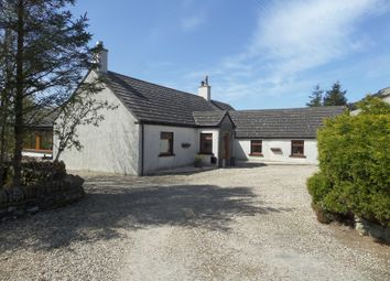 Thumbnail 3 bed detached bungalow for sale in Clayock, Halkirk