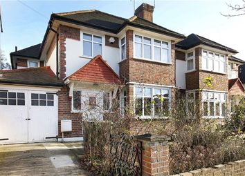 Thumbnail 3 bed semi-detached house for sale in Brantwood Road, London