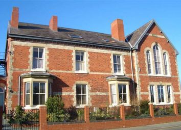 Thumbnail 2 bed flat to rent in Queens Park House, Oswestry, Shropshire