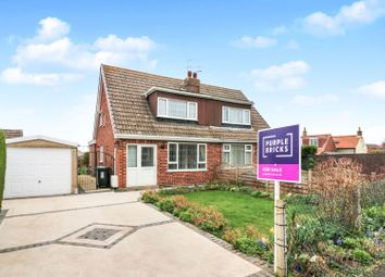 Thumbnail 3 bed semi-detached bungalow for sale in Westlands Avenue, Tetney, Grimsby