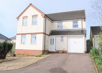 Thumbnail 4 bed detached house to rent in Barns Close, Bradninch, Exeter