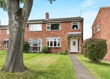 Thumbnail 3 bed semi-detached house for sale in Manor Gardens, Shepshed, Loughborough