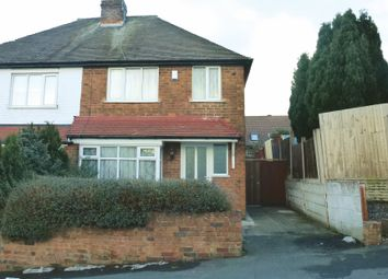 Thumbnail 3 bed semi-detached house for sale in Pleasant Street, Hill Top, West Bromwich, West Midlands