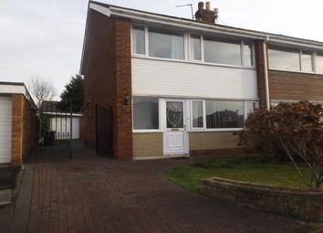 Thumbnail 4 bedroom semi-detached house to rent in Poplar Avenue, Warton, Preston