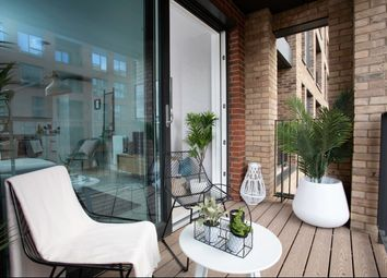 Thumbnail 1 bedroom flat for sale in Connaught Business Centre, Hyde Estate Road, London