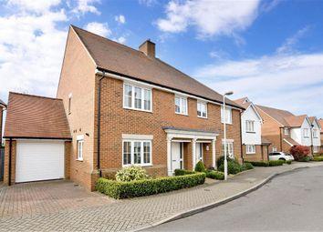 Leonard Gould Way, Loose, Maidstone, Kent ME15. 4 bed semi-detached house
