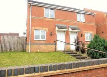 Thumbnail 2 bedroom semi-detached house to rent in Station Road, Bolton Upon Dearne, Rotherham