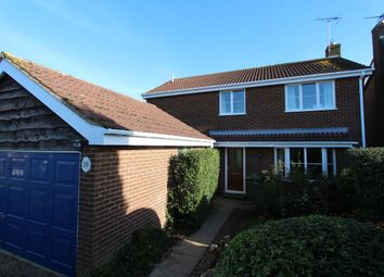 Thumbnail 4 bed detached house for sale in Edmonton Way, Oakham