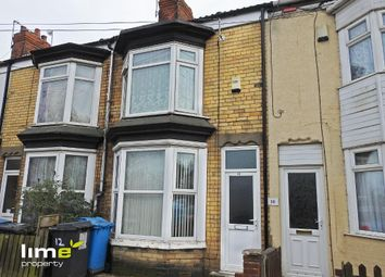 Thumbnail 2 bed terraced house to rent in Frodsham Street, Hull