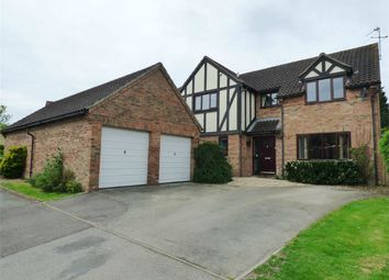 Thumbnail 4 bedroom detached house for sale in Pasture Close, Warboys, Huntingdon