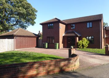 Thumbnail 4 bed detached house to rent in Turner Close, Bradwell, Great Yarmouth