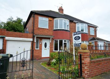 Thumbnail 2 bed semi-detached house for sale in Stocksfield Avenue, Fenham, Newcastle Upon Tyne