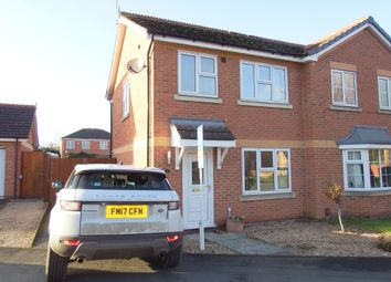 Thumbnail 3 bed semi-detached house to rent in Perry Grove, Loughborough