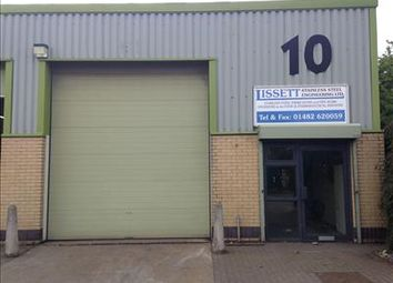 Thumbnail Light industrial to let in Unit 10, Burma Drive Unit Factory Estate, Burma Drive, Hull