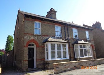 Thumbnail 3 bed semi-detached house to rent in Kings Road, St. Neots