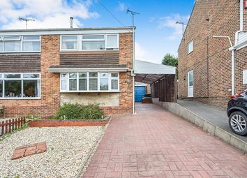 Thumbnail 3 bed semi-detached house for sale in Cheviot Close, Swadlincote