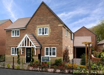 "Thumbnail 4 bed detached house for sale in ""Lincoln"" at Eldon Way, Crick Industrial Estate, Crick, Northampton"