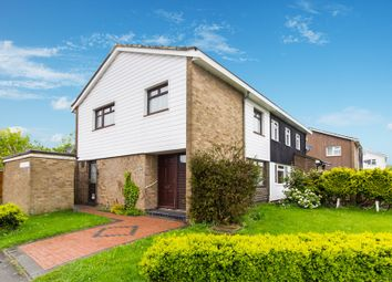 Thumbnail 3 bed semi-detached house for sale in Markhams Chase, Basildon
